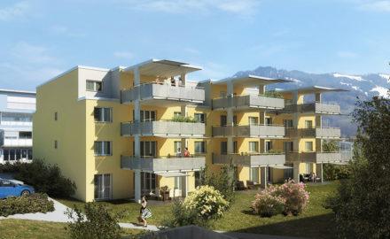Miete: Etagenwohnung, Neubauprojekt